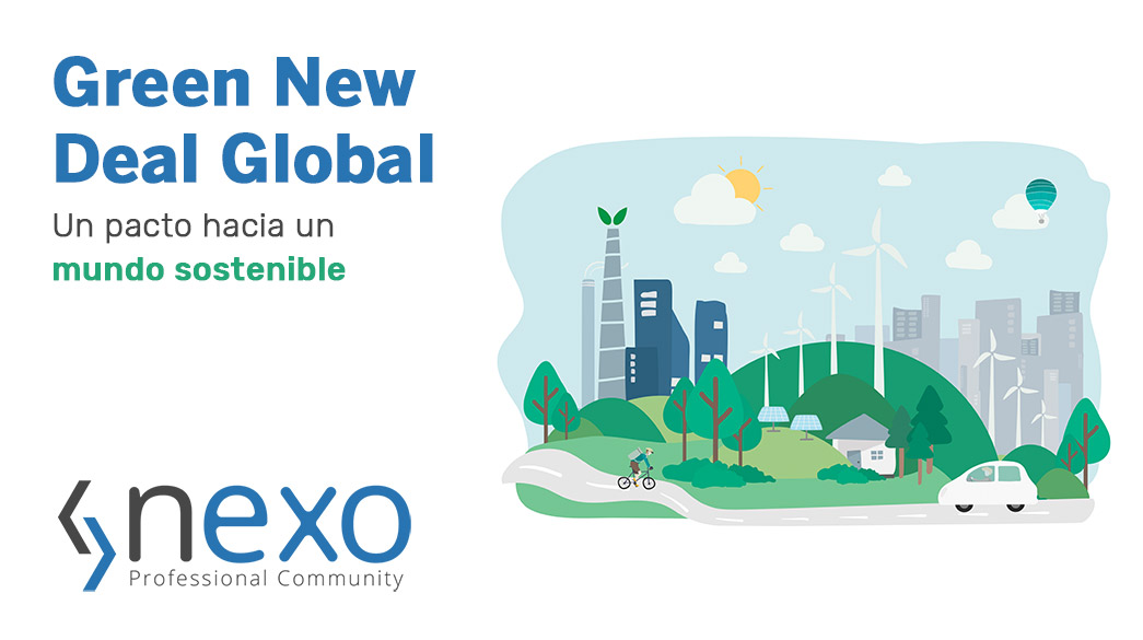 green new deal global pacto sostenibilidad